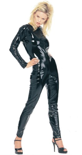 Kittysuit Leather Like Black Med Costume Accessory