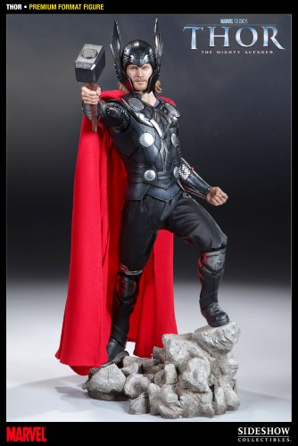 Buy Low Price Sideshow Thor Premium Format Figure (B004ZM9172)