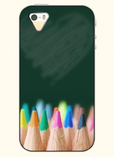 Oofit Phone Case Desin With Colorful Pencil Leads For Apple Iphone 5 5S 5G