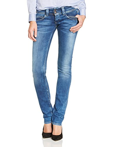 Pepe Jeans - Venus, Jeans da donna, Blu (Bleu (Denim)), 46/48 IT (33W/26L