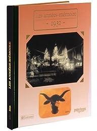 1931 Les Années-Mémoire