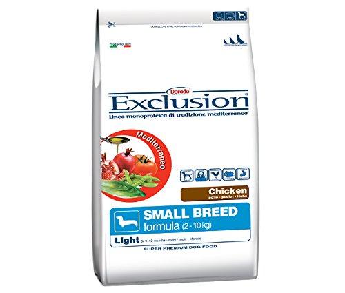 Exclusion Cane Adulto Taglia Piccola, Pollo 800 Gr