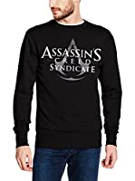 ICONIC COLLECTION - ASSASSINS CREED Sudadera Syndicate - Logo (Negro)