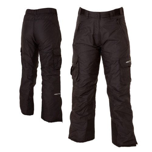 Arctix 1830 Classic Cargo Womens Snow Pants  BlackL Picture