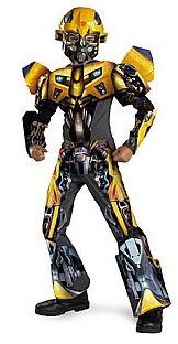 Child's 3-D Bumblebee Transformers Costume Large