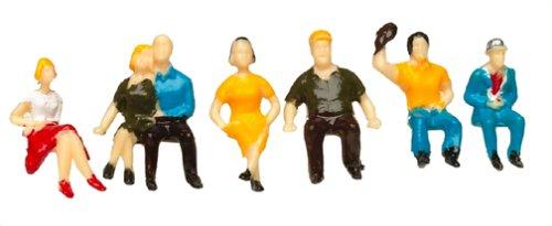 Bachmann Trains Sitting Figures