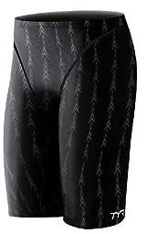 TYR Men's Fusion 2 Jammer Swim Suit (Black, 32 -Inch)