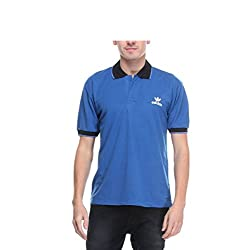 Opg Men's Cotton Polo (O211T072_Blue_Small)