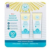 The Honest Company Honest Mineral Sunscreen Lotion SPF 50 2-pack 3.0oz by The Honest Co