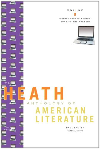 The Heath Anthology of American Literature: Contemporary...