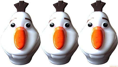 Disney Frozen Olaf Easter Egg Hunts and Games Treat Containers Pack of 3