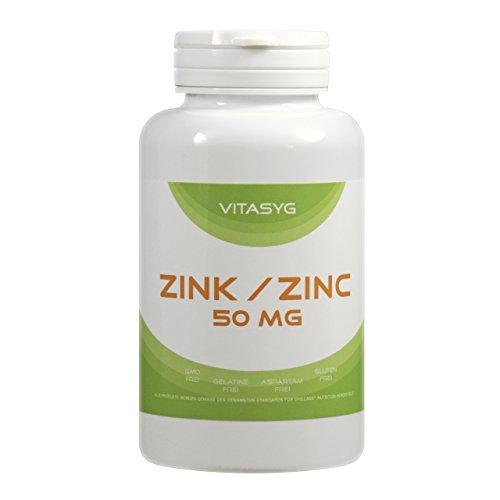 Vitasyg Zink 50 mg Elementargehalt, 300 Tabletten, 1er Pack (1 x 180 g)