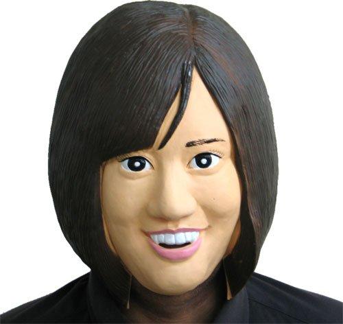 【なりきりラバーマスク】 M2アイドル 君もアッちゃんに! 前田敦子劇似マスク!!