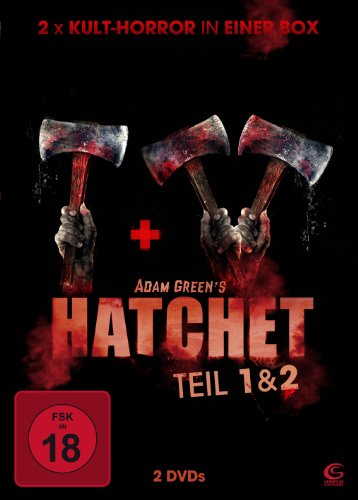 Adam Greens Hatchet 1 & 2 - 2x Kult-Horror in einer Box (2 DVDs)