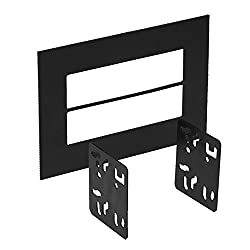 See Metra 99-9999 Universal ISO Trim Ring will Finish off a Double DIN Radio Installation Details