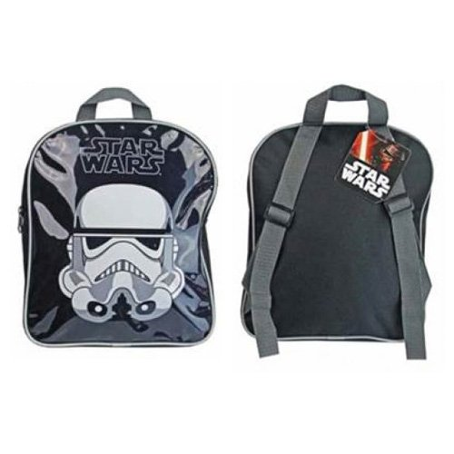 Childrens-Star-Wars-Stormtrooper-Boys-Bag-Junior-Black-Backpack