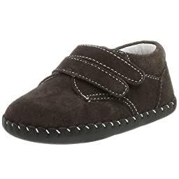 pediped Originals Eathan Loafer (Infant),Chocolate Brown,Extra Small (0-6 Months)