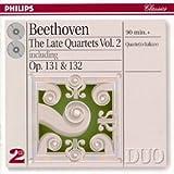 Beethoven - Les derniers quatuors à corde, Vol. 2 : Op. 131 et 132