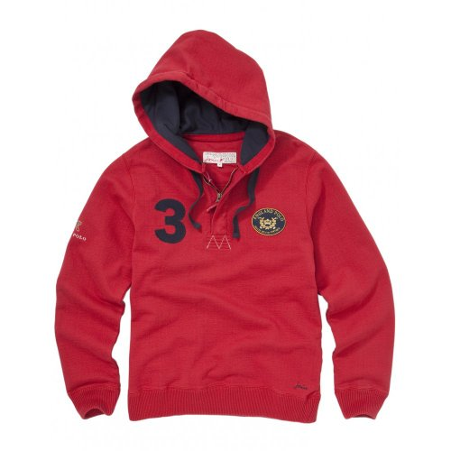 Joules Mens England Polo Team Hoodie (L)
