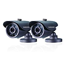 Samsung SDS-5440BCD High Resolution Weatherproof IR Camera Double Pack