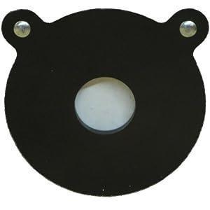 Ar500 Steel Bullseye Target 10 X 1 2 by ShootingTargets7