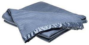 Wamsutta Acrylic Thermal Full/Queen Blanket, Medium Blue