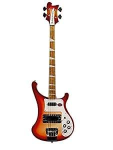 RICKENBACKER 4003FG FIREGLO RED BURST + CASE Basses 4-string electric bass