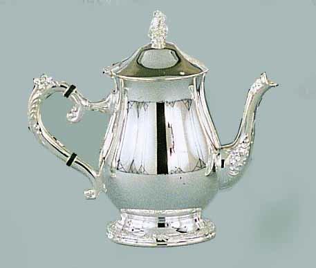 Elegance Silver 89808 Romantica Collection Silver Plated Tea Pot, 32 oz. (Teapot 32 Oz compare prices)