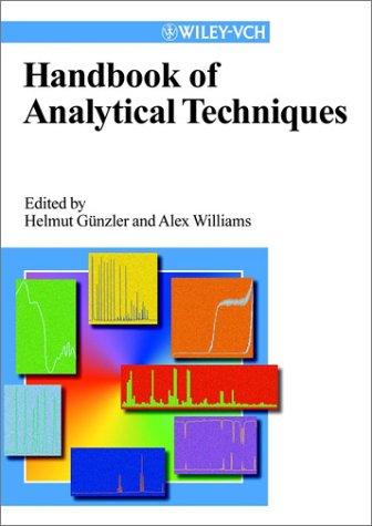 Handbook of Analytical Techniques, 2 Volume Set