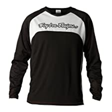 Troy Lee Designs Sprint Jersey (Black/White, Large)