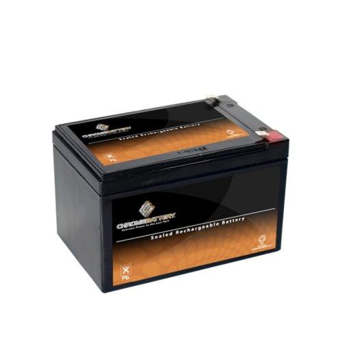 12V 12Ah Sealed Lead Acid (Sla) Battery - T2 Terminals - For Zb-12-12