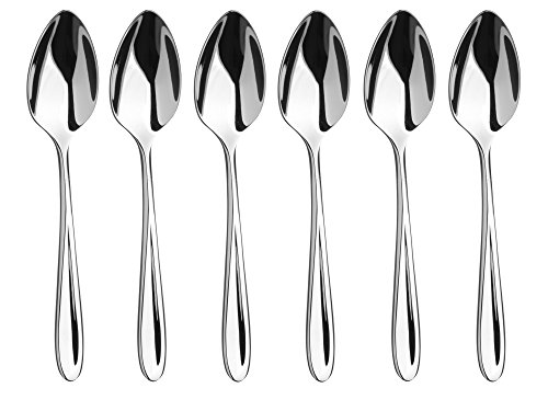 Sophie Conran Rivelin Couverts Coffret de 6 cuillères à expresso, Argent