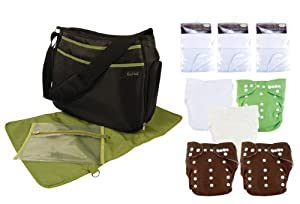 Trend Lab Cloth Diaper Starter Kit, Unisex (Discontinued by Manufacturer)