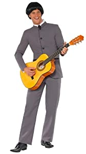 Smiffy's Men's Fab Four Iconic Suit, Grey, Large