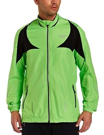 Brooks Men's Nightlife II Jacket, Brite Green, Large