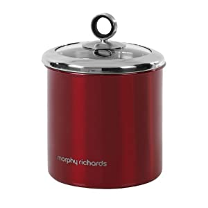 Morphy Richards 46281 13.5 X 17 cm Storage Canister - Red