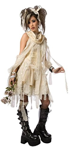 Morris Costumes Womens Egyptian Gothic Mummy Dead Zombie Baby Doll Fancy Dress