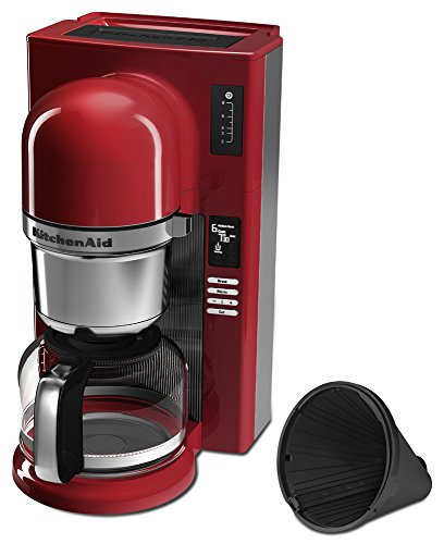 Kitchenaid Pour Over Coffee Maker Red : KitchenAid KCM0802ER Pour Over Coffee Brewer, Empire Red Home Garden Dining Appliances Makers ...