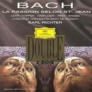 Coffret 2 CD Classique : Bach - Passion selon Saint Jean