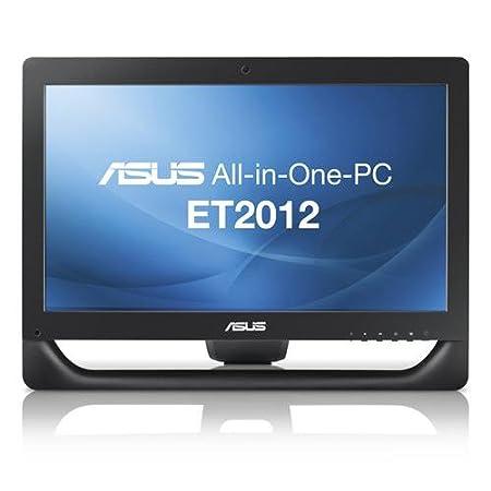 """Asus ET2012AGKB-B003C Ordinateur de Bureau 20"""" (50,80 cm) AMD 500 Go 4096 Mo AMD 7470M Windows 7 Noir"""