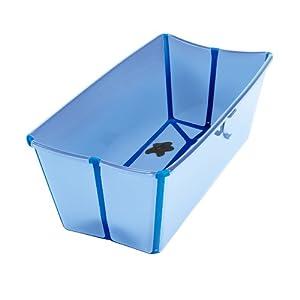 Flexi Bath 00305 - Bañera para niños (color Celeste/Azul) en BebeHogar.com