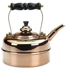 Simplex Heritage 2 Quart Tea Kettle, Copper