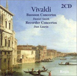 Vivaldi: Bassoon Concertos / Smith Recorder Concertos / Laurin