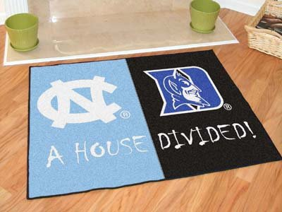 Fan Mats 6002 North Carolina Tar Heels vs Duke Blue Devils 34