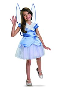 Disney Secret Of The Wings Silvermist Secret Of The Wings Classic Costume, Purple/Whie, Medium/7-8