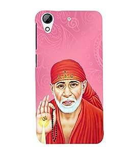 OM Shri Sai Kaalaya 3D Hard Polycarbonate Designer Back Case Cover for HTC Desire 626 G::HTC Desire 626G Plus::HTC Desire 626G+