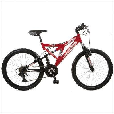 Mongoose Boy's Estes Bicycle (Red)