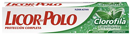 LICOR DEL POLO - CLOROFILA ultracleaning toothpaste 2x75 ml-unisex