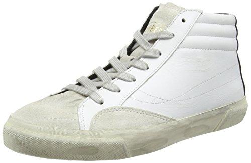 Bikkembergs Rubber 516 M.Shoe M, Sneaker, Uomo, Bianco (White), 41