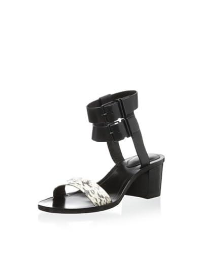 Pour La Victoire Women's Dagney Ankle Strap Sandal  [Marble/Black]